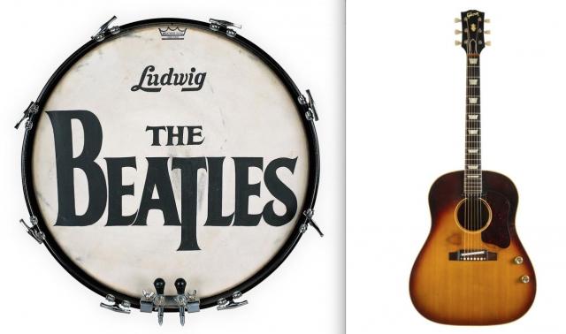 La grancassa di Ringo e la chitarra di John