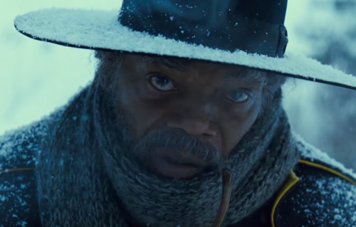 "Samuel L. Jackson in ""The Hateful Eight"""