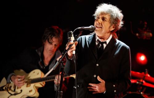 Bob Dylan, 74 anni - Foto via