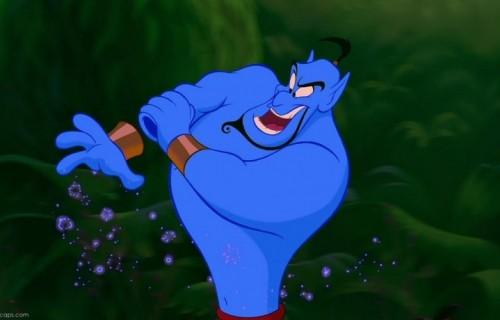 """Una scena di """"Aladdin"""", 1992"""