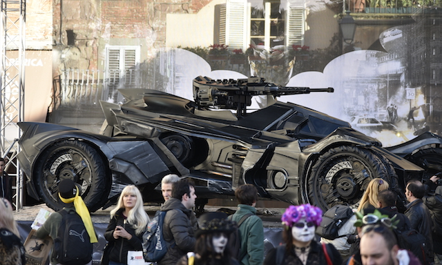 La Bat Mobile al Lucca Comics & Games