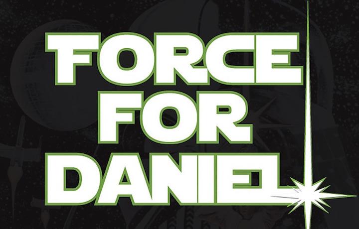 Il logo utilizzato nella campagna #ForceForDaniel