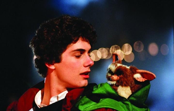 """Zach Galligan in una scena di """"Gremlins"""", 1984"""