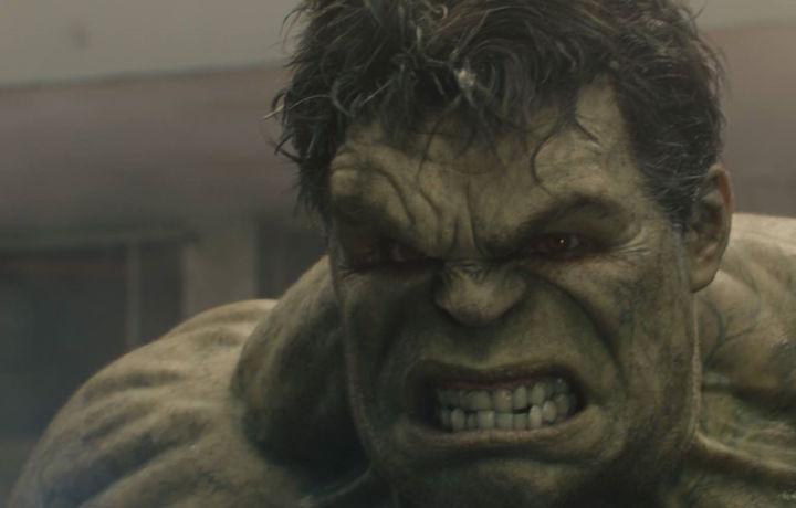 """Hulk in una scena di """"Avengers: Age of Ultron"""""""
