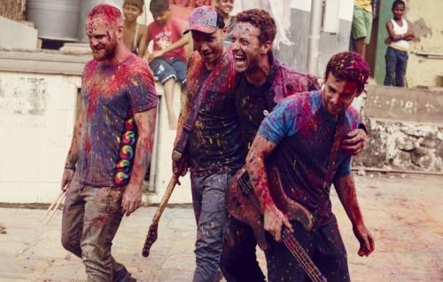 I Coldplay, foto di Julia Kennedy