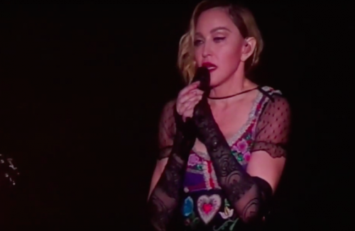 Madonna a Stoccolma, frame da video