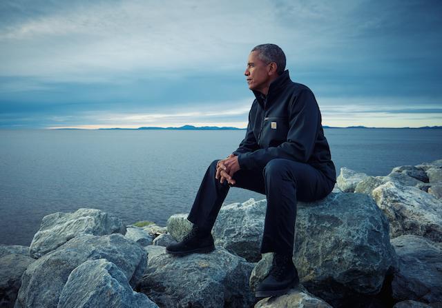 Il Presidente Obama a Kotzebue, Alaska. Foto di Mark Seliger