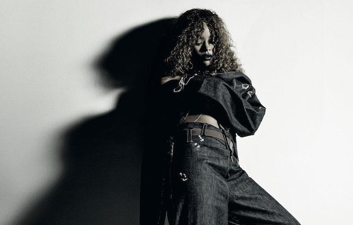 Un'immagine della campagna di Rihanna per Puma