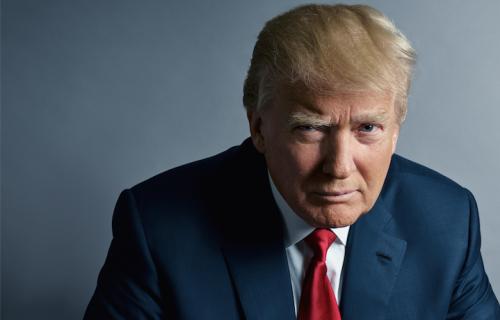 Donald Trump, 69 anni. Foto: Mark Seliger