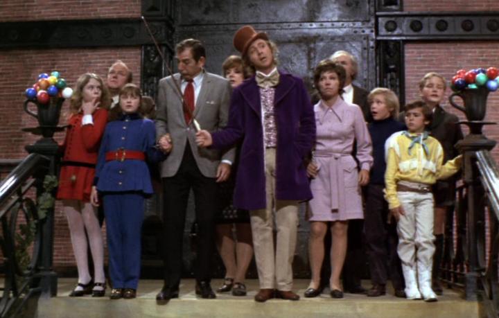 Il cast di Willy Wonka e la Fabbrica di Cioccolato, 1971