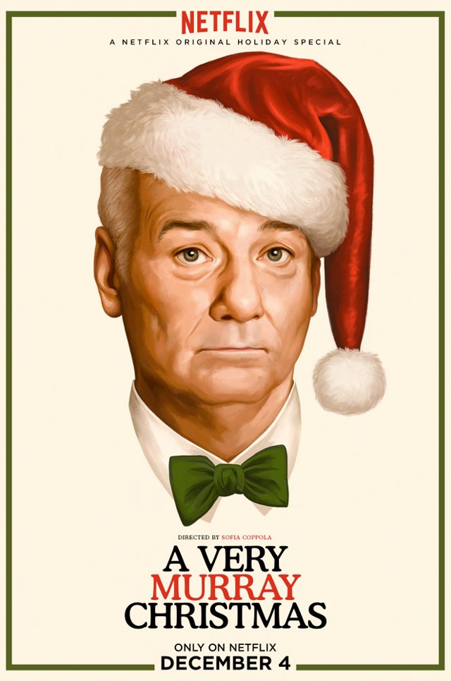 """""""A Very Murray Christmas"""" sarà disponibile in esclusiva su Netflix a partire da venerdì 4 dicembre"""