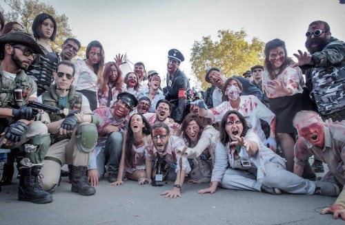 Zombie Walk a Lucca Comics & Games. Fonte: Facebook