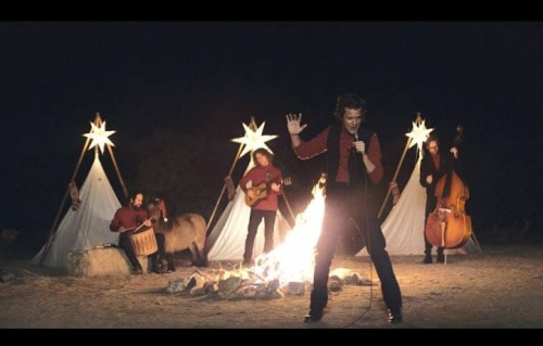 Un frame del nuovo video dei The Killers