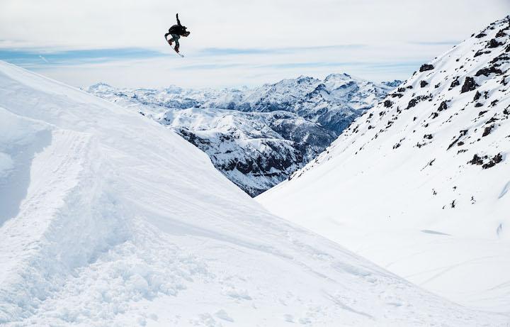 Danny Davis sulle montagne del Cile. Foto: Adam Moran