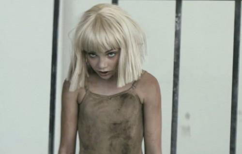 """Un frame di """"Elastic Heart"""" di Sia"""