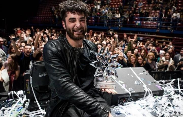 Giosada, vincitore della nona edizione di X Factor Italia - Foto via Facebook