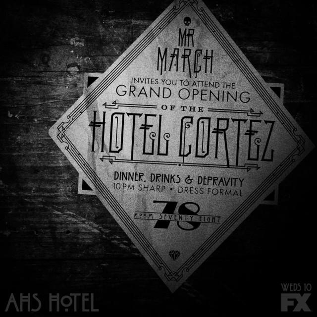 Mr. March è lieto di invitarti all'inaugurazione dell'Hotel Cortez , dal 21 dicembre sul canale 112 di Sky