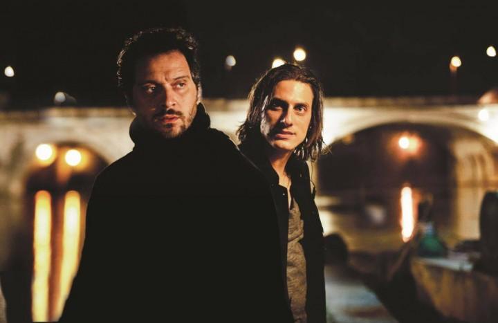 "Claudio Santamaria e Luca Marinelli, i protagonisti di ""Jeeg Robot"""