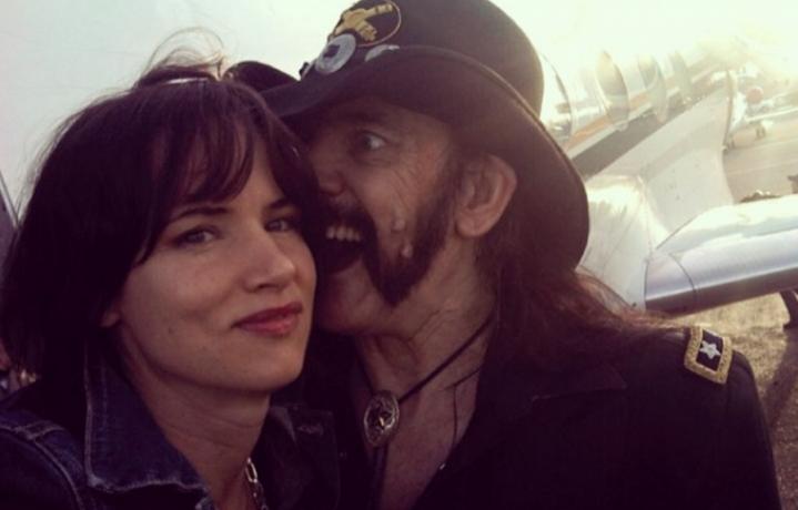 Juliette Lewis e Lemmy Kilmister - Foto via Instagram