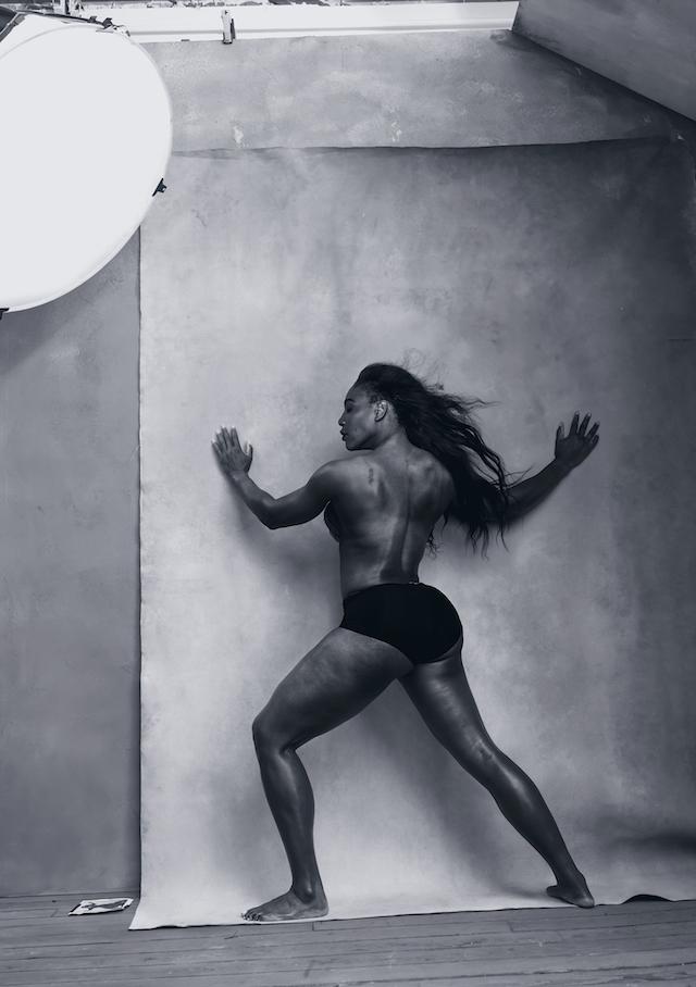 Serena Williams, mese di aprile. Foto: Annie Leibovitz