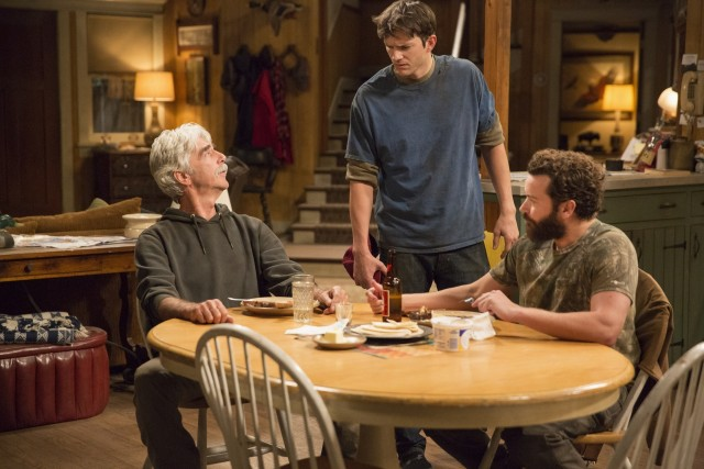 Ashton Kutcher, Danny Masterson e Sam Elliott in una delle prime immagini della nuova sit-com The Ranch
