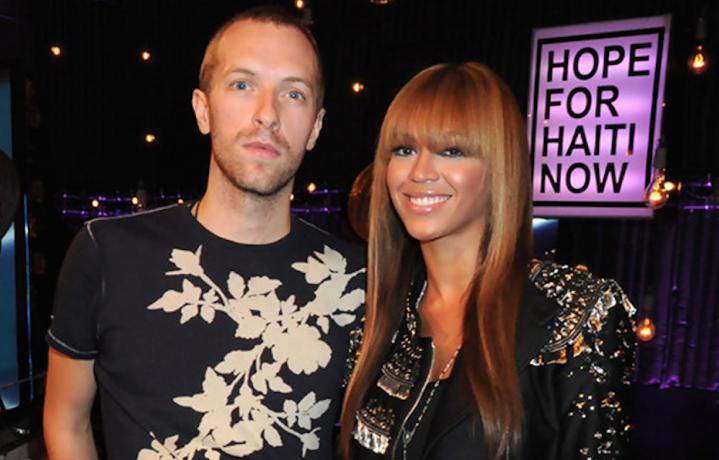 Chris Martin e Beyoncé