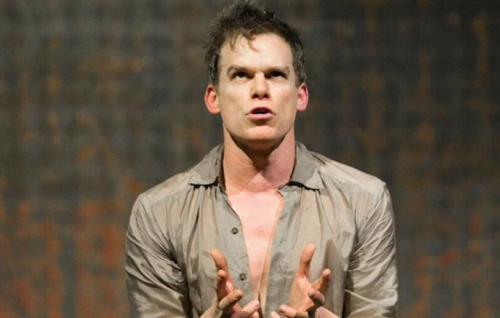"Michael C. Hall in ""Lazarus"""