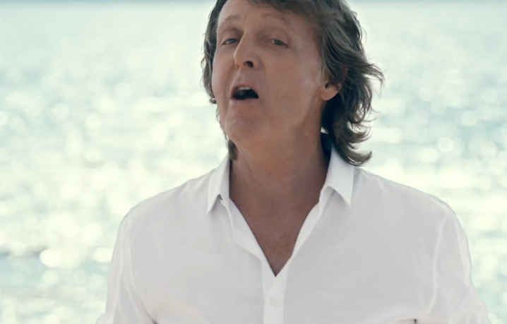 """Paul McCartney in """"Love Song to the Earth"""""""