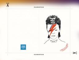 cartoline di Natale, Auguri di Natale, Natale, biglietti d'auguri, pronte all'uso, David Bowie, Run-DMC, Grimes, Fetty Wap
