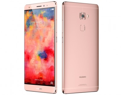 The rose gold Huawei Mate S
