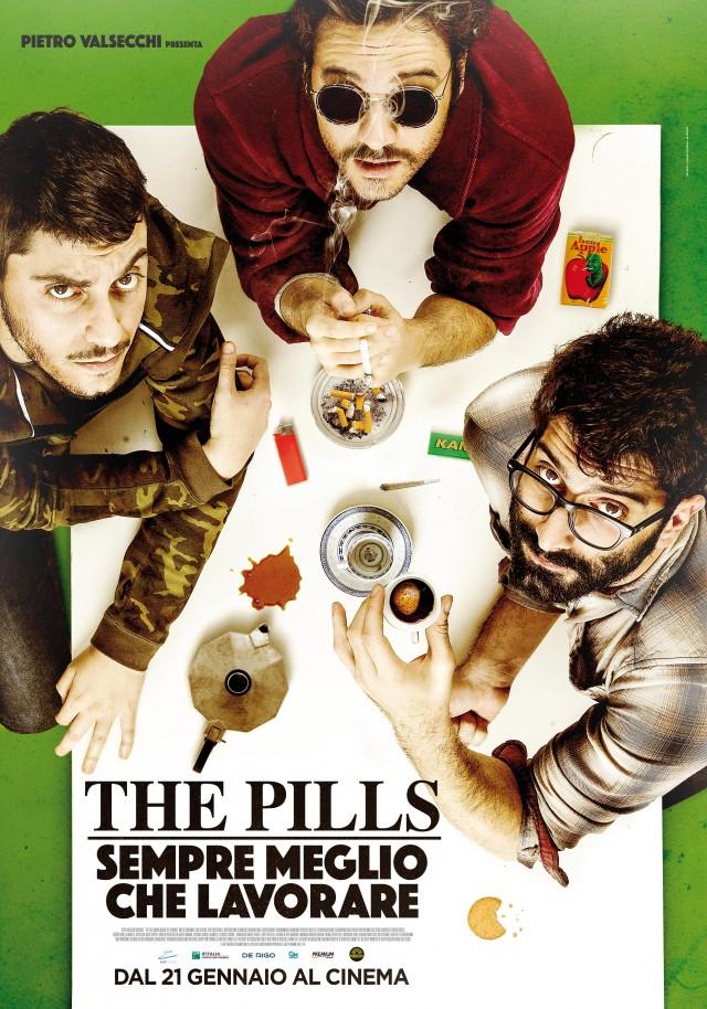 """La locancadina di """"Sempre meglio che lavorare"""", il film dei The Pills in uscita il 21 gennaio"""