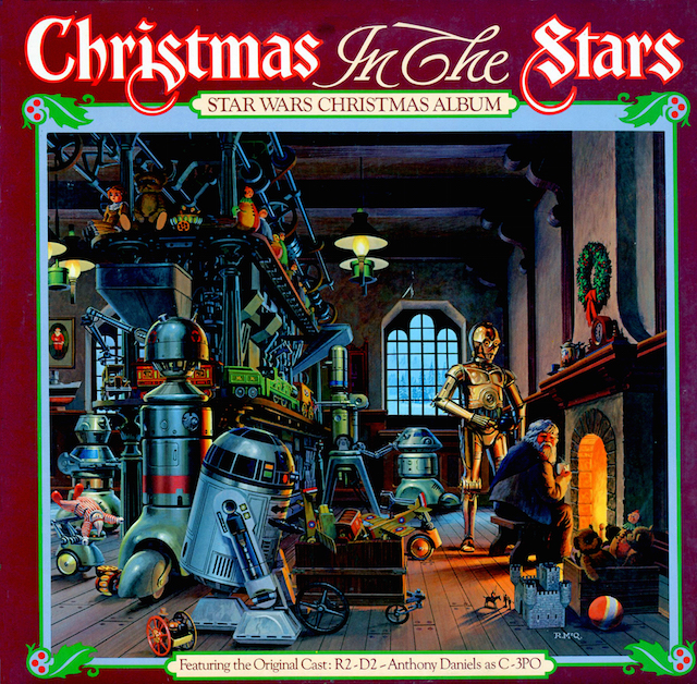 cover album natale star wars
