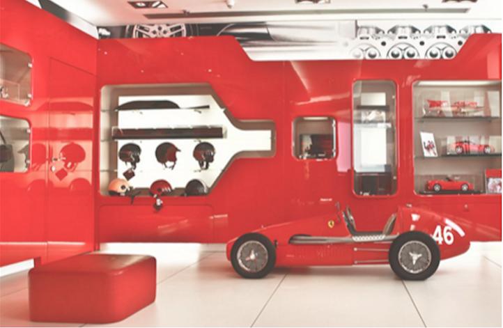 Il Ferrari Store è solo uno dei brand che si sono rivolti a Sound Identity