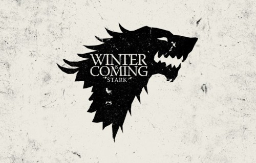 """Il celebre stemma della casata di Winterfell in """"Game of Thrones"""""""