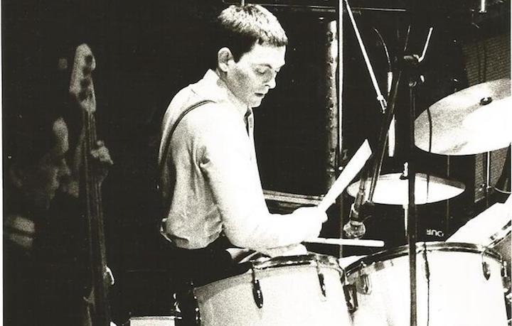 Una foto d'archivio di John Bradbury con i The Specials. Fonte: Facebook