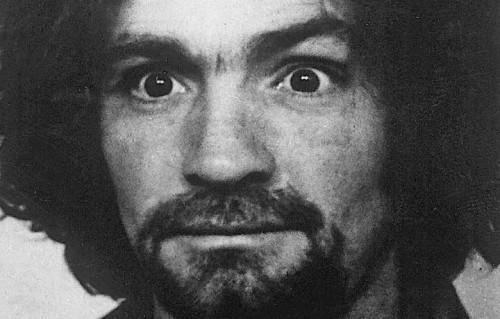 Charles Manson in una foto d'epoca