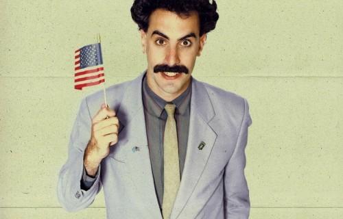 """Sacha Noam Baron Cohen nei panni di """"Borat"""""""