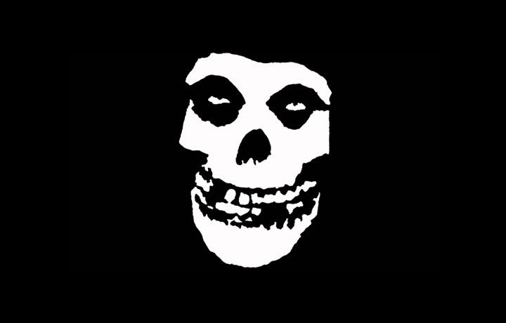 """Il mitico """"Fiend Skull"""" dei Misfits"""