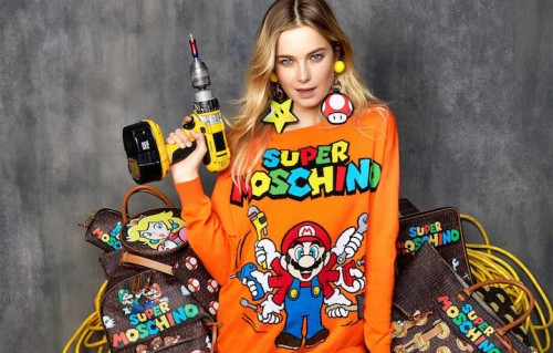 Un'immagine della collezione Super Moschino