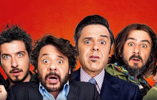 """Paolo Ruffini, Lillo & Greg, Francesco Mandelli sono i protagonisti di """"Natale col Boss"""""""