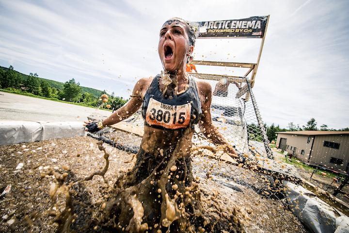 Un'immagine del Tough Mudder in New England. Foto: Gameface Media