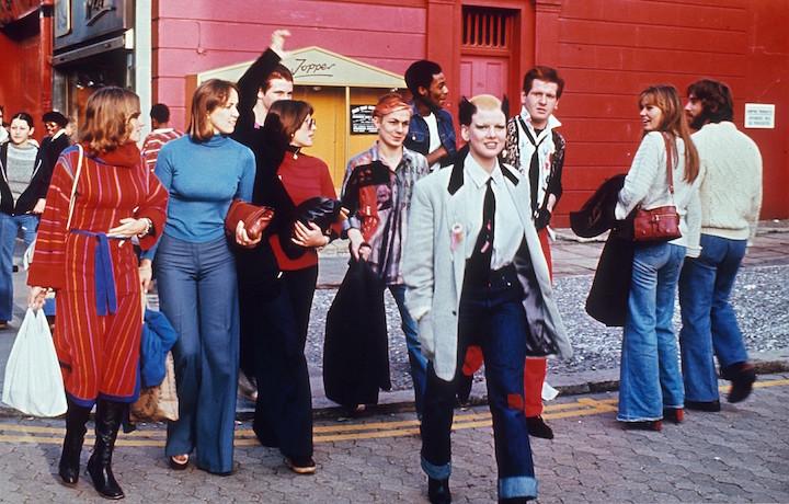 Una foto del 1976 del punk a Londra. © John Selby/Rex Features/PYMCA