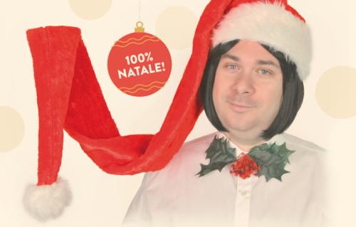 """La locandina del """"Ruggero de I Timidi Christmas Show"""""""