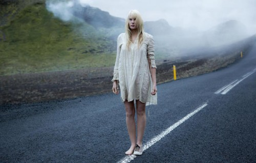 "Un'immagine di Daryl Hannah sul set di ""Sense8"""