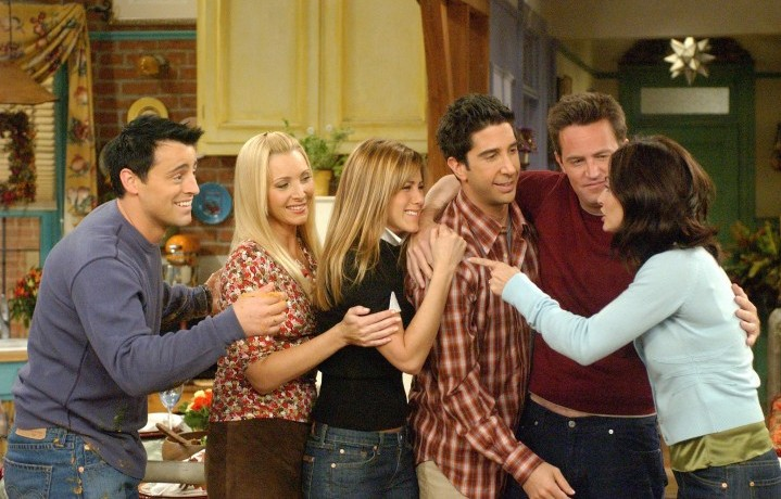 "Il cast di ""Friends"", foto stampa"