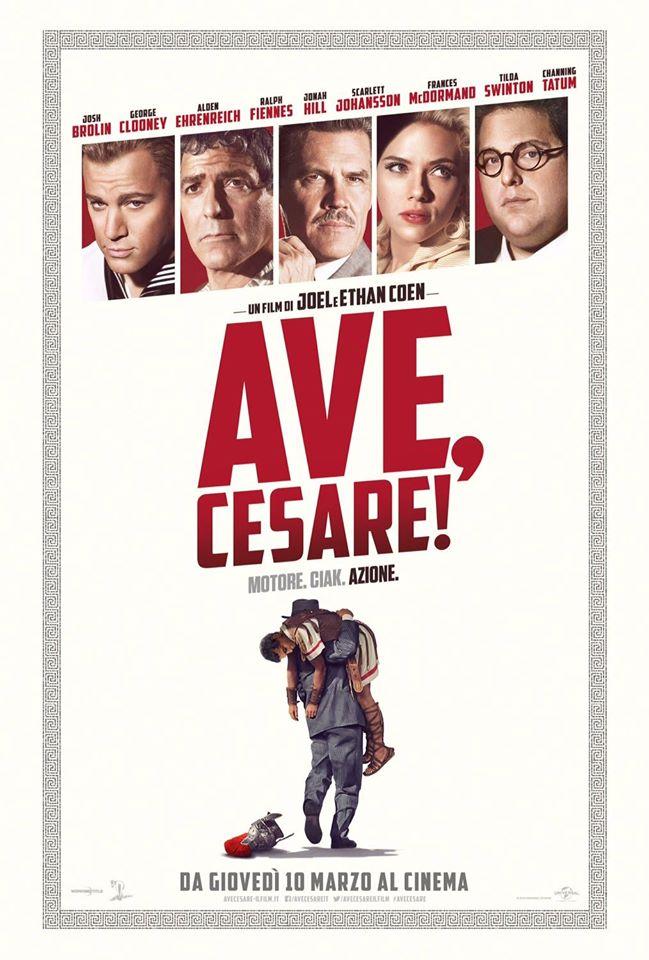 """La locandina di """"Ave, Cesare!"""""""