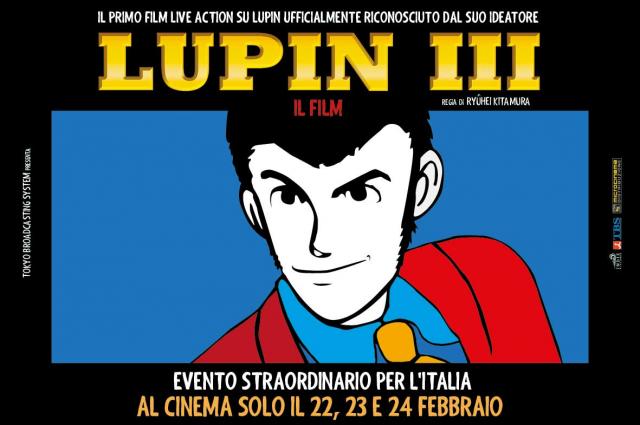 """La locandina di """"Lupin III"""""""