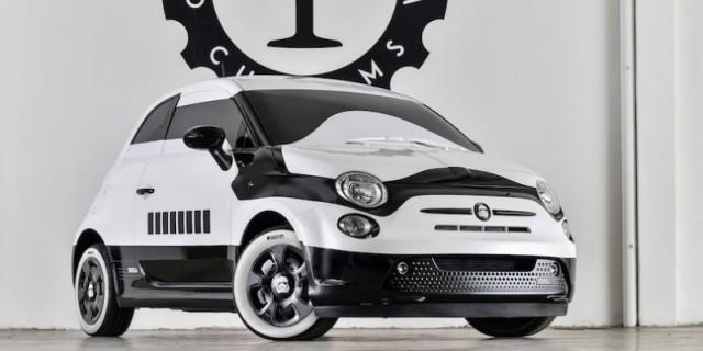 La Fiat 500 versione Stormtrooper customizzata da Garage Italia