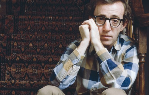 Woody Allen, foto Nancy R. Schiff/Getty