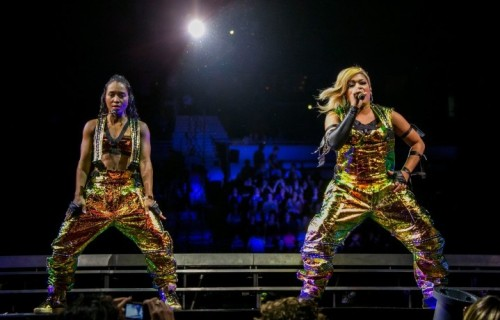 Le TLC live, maggio 2015 (Photo by Scott Legato/Getty Images)